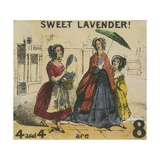 Sweet Lavender!, London, C1840, Cries of London Giclee Print by TH Jones