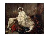 After the Masquerade, 1850S Giclee Print by Thomas Couture
