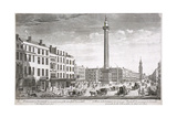 Fish Street Hill, London, C1750 Giclee Print by Thomas Bowles