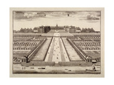 Bird's-Eye View of the Royal Hospital, Chelsea, London, C1750 Giclee Print by Sutton Nicholls