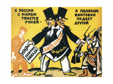 Satirical Poster on the League of Nations, 1920 Giclee Print by Vladimir Mayakovsky