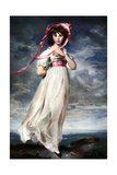 Sarah Barrett Moulin (Pinkie), 1794 Giclee Print by Thomas Lawrence