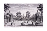 Vauxhall Gardens, Lambeth, London, 1751 Giclee Print by Thomas Bowles