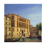 Palazzo Giovanelli, 19th Century Giclee Print by Victor Adam