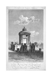 Monument in the Churchyard of St Giles in the Fields, Holborn, London, 1817 Giclee Print by Samuel Rawle