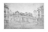 The Bank of England, City of London, C1830 Giclee Print by Thomas Hosmer Shepherd