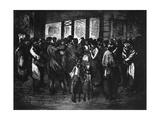 Chanteurs De Rue, C1800-1840 Giclee Print by Theophile Steinlen