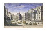 Mansion House (Exterior), London, 1751 Giclee Print by Thomas Bowles
