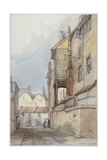 Catherine Wheel Alley, City of London, 1855 Giclee Print by Thomas Colman Dibdin