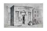 Occasional Chapel, Weir's Passage and Temperance Hall, St Pancras, London, 1855 Giclee Print by Thomas Hosmer Shepherd