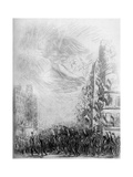 2nd August, C1840-1900 Giclee Print by Theophile Steinlen