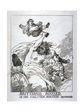 Brittannia Roused or the Coalition Monsters Destroyed, 1784 Giclee Print by Thomas Rowlandson