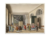 Interior of the Excise Office, Old Broad Street, City of London, 1810 Giclee Print by Thomas Sutherland