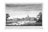 Horse Guards Parade from the South-West, Westminster, London, 1753 Giclee Print by Thomas Bowles