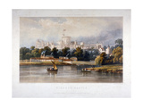 Windsor Castle, Berkshire, 1851 Giclee Print by Thomas Picken