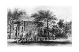Mrs Montagu's House, Portman Square, London, 19th Century Giclee Print by Thomas Hosmer Shepherd