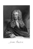 Sir Isaac Newton, English Mathematician, Astronomer and Physicist Giclee Print by W Holl