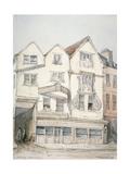 King's Arms Inn, Moorfields, with Decorative Moulding on the Front, City of London, 1851 Giclee Print by Thomas Colman Dibdin
