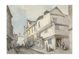 Cloth Fair, Smithfield, City of London, 1850 Giclee Print by Thomas Colman Dibdin