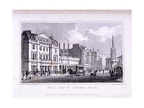 Langham Place, Marylebone, London, 1828 Giclee Print by Samuel Owen