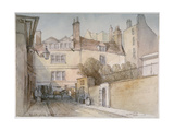 Bride Lane, City of London, 1851 Giclee Print by Thomas Colman Dibdin