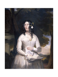 Mary Anne Paton, 1848 Giclee Print by Samuel Thomas Chinn