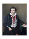 Portrait of Bernard Wolf, C1823 Giclee Print by Sophie Rude