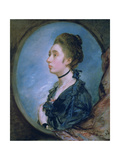 The Artist's Daughter Margaret, C. 1772 Giclee Print by Thomas Gainsborough