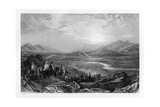 The Plain of the River Jordan, Looking Towards the Dead Sea, 1841 Giclee Print by Sam Fisher