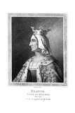Blanche of Castile (1188-125), Niece to King John Giclee Print by Thomas Trotter