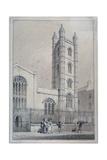 Church of St Mary Aldermary, City of London, 1830 Giclee Print by Thomas Hosmer Shepherd