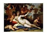 Bacchante and Satyrs, C1713 Giclée-tryk af Sebastiano Ricci