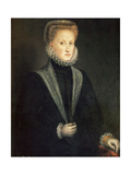 Anna of Austria, Queen Consort of Philip II of Spain and Portugal, 1573 Giclee Print by Sofonisba Anguissola