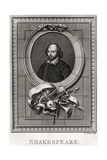 Shakespeare, 1776 Giclee Print by T Cook
