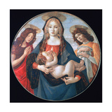The Virgin and Child with Saint John and an Angel, C1490 Giclee Print by Sandro Botticelli