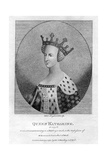 Queen Katharine, (Catherine of Valoi), Queen Consort of England of Henry V Giclee Print by S Harding