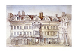 Staple Inn, Holborn, London, 1854 Giclee Print by Thomas Colman Dibdin