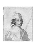 Edward of Westminster, Prince of Wales, Son of King Henry VI of England Giclee Print by S Harding