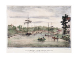 Stourport-On-Severn, Worcestershire, from Below the Bridge, C1795 Giclee Print by Samuel Ireland