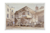 Blossoms Inn, Lawrence Lane, City of London, 1854 Giclee Print by Thomas Colman Dibdin
