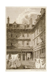 Green Arbour Court, Old Bailey, City of London, 1803 Giclee Print by Samuel Rawle