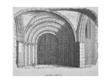 West Entrance of Temple Church, City of London, 1835 Giclee Print by Samuel Williams