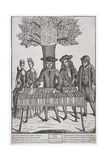 Bookseller at Moorfields, London, C1750 Giclee Print by Sutton Nicholls