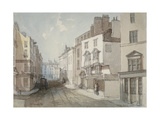 Coleman Street, City of London, 1851 Giclee Print by Thomas Colman Dibdin