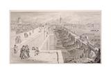 London Bridge (Old and New),London, 1831 Giclee Print by Thomas Hosmer Shepherd