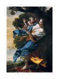 The Love Which Is Avenged, 17th Century Giclee Print by Simon Vouet