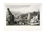 Southwark Bridge, London, 1828 Giclee Print by Samuel Prout