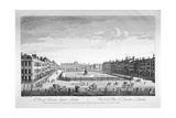 Leicester Square, Westminster, London, 1753 Giclee Print by Thomas Bowles