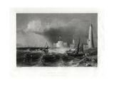 Hurst Castle, Portsmouth, 1860 Giclee Print by W Mossman