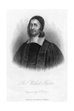 Richard Baxter (1615-169), English Puritan, Church Leader and Theologian, 19th Century Giclee Print by Samuel Freeman